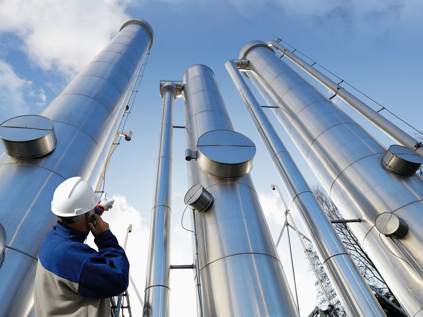 Steel and Oil Refining