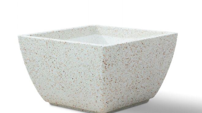 Вазон из мраморного камня. Модель – ИРИС XL
