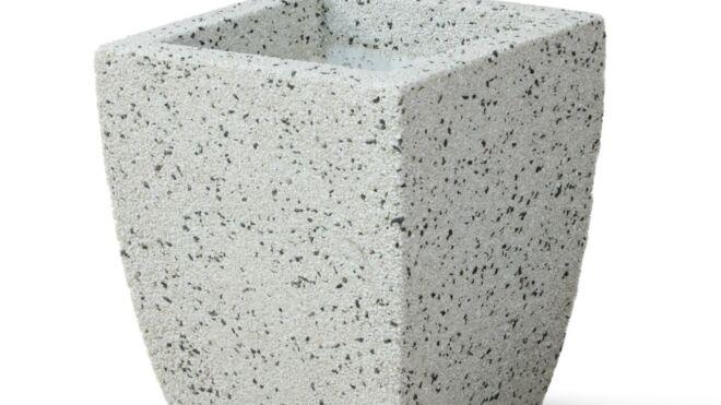Вазон из мраморного камня. Модель – ИРИС S